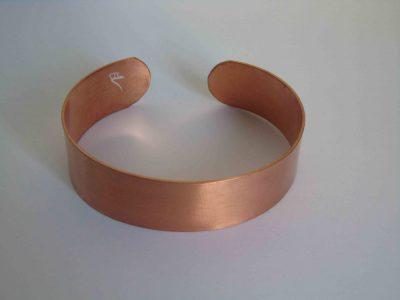 plain cuff copper bracelet