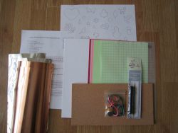 embossing taster kit contents