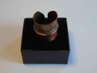 cuff ring on box