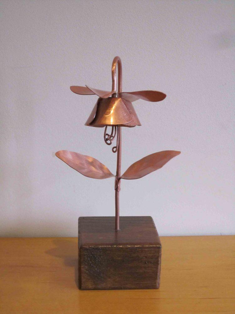 Fuchsia copper flower