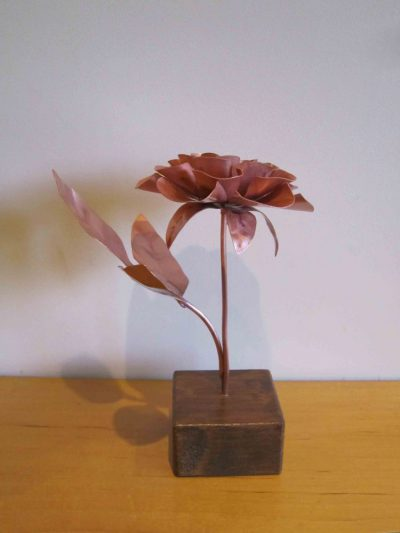 copper rose from the other side