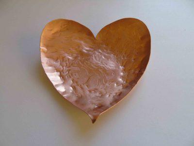 Heart shaped bowl