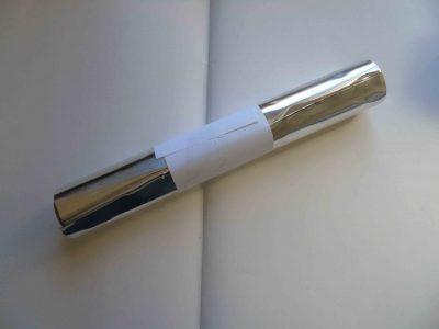 Aluminium foil half roll