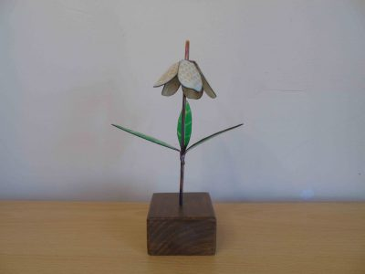 Fritillaria enamelled copper flower, discounted because it has slight flaws